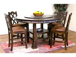 table with lazy susan built in kitchen table with lazy round dining room designs sets lazy