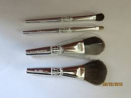 dior cannage couture collection 4 piece brush set with case