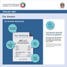 Tax Invoice Examples Vat Invoice Format In Uae How To Prepare Vat Invoice In Uae