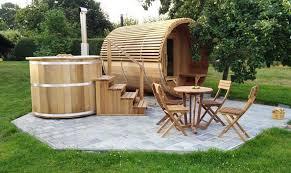 Sauna Baril En Bois Thermique