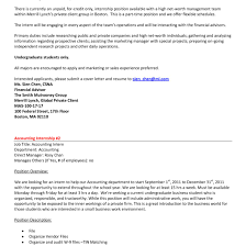 Cover Letter For Chartered Accountant Resume Sample Cover Letter For Accountingernship With No Experience 16