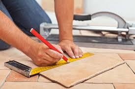 measuring floor tiles