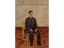 self portrait with cropped hair 1940 frida kahlo