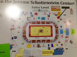 Ohio State Schottenstein Center Seating Chart Basketball Event Map Sorry About The Glass Glare Hope This