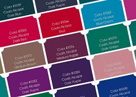 Coats Epic Thread Color Chart 48 Conclusive Coats Astra Thread Color Chart