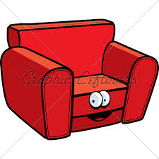 cartoon sofa chair. Cartoon Chair Sofa I