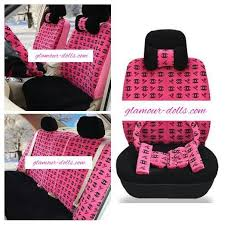 charcoal gray velour front set seat covers