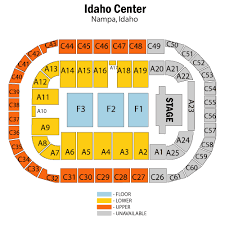 Idaho Center Concert Seating Chart Ford Idaho Center Arena Nampa Tickets Schedule Seating