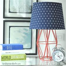 diy fabric lamp shade