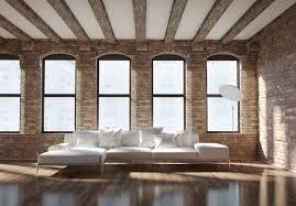 exposed brick walls in interior design