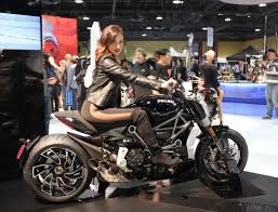 at the long beach international motorcycle show