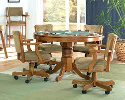 dinette chairs with casters kitchen mesh conference chair room caster wheels swivel