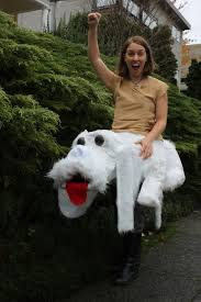 girls halloween costumes ideas best college halloween how to make your own rideable falcor costumes and halloween costumes