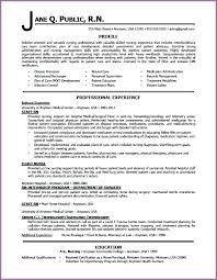 Examples Of Profiles On Resumes Professional Profile Resume Examples ...