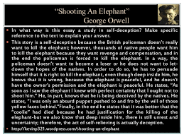 shooting an elephant essay george orwell shooting an elephant  shooting an elephant essay george orwell shooting an elephant 1936 a level english com