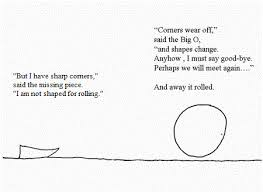 The Missing Piece Shel Silverstein The Missing Piece Meets The Big O