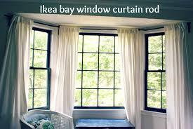 Curtains Poles Bay Window Curtain B Q Net Polesie: Full Size ...