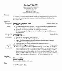 Teacher Resume Objective New Early Childhood Teacher Objectives Resume Objective LiveCareer