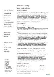 Entry Level Computer Engineer Resume Sample Systems Orlandomoving Co
