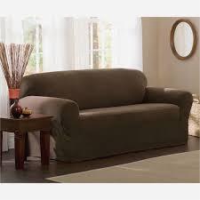 sofa slipcovers elegant sure fit stretch metro 1 piece sofa slipcover