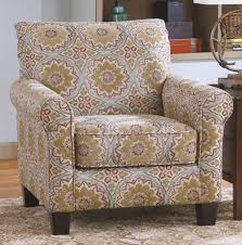 accent chairs transitional rolled arm accent chair with nailhead