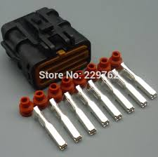 popular 8 pin wire harness buy cheap 8 pin wire harness lots from shipping 10sets 8 pin 2 0mm car waterproof connector plug auto electrical wiring harness connector