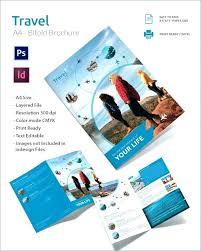 Bi Fold Brochure Template Word Ushouldcome Co