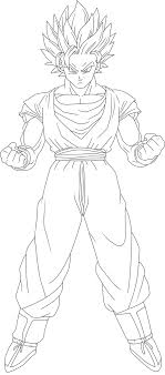 Small Picture Goku Ssj2 Coloring Pages Sketch Coloring Page Coloring Home