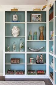 painting shelves ideasHouse of Ruby Interior Design  Inside cabinets Benjamin moore