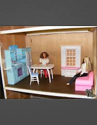 Building A Barbie Doll House With A Recycled Dresser From Just'In Cool Make Your Own Barbie Furniture Property