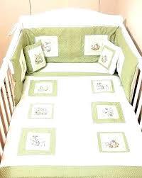baby room peter rabbit crib bedding set pottery barn harper bassinet