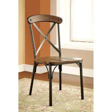 Furniture Of Industrial Dining Side Chairs Set 2 Rustic Metal Uk Cheap  Steel Large Size