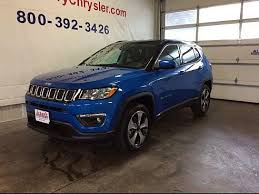 2018 jeep blue.  blue 2018 jeep compass latitude 4wd laser blue pearl coat albany mn inside jeep blue