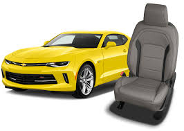 chevy camaro seat covers leather