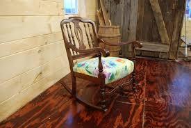 restoration of antique rocking chair