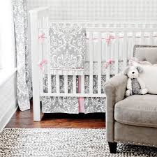 Pink and Gray Baby Bedding Pink Baby Bedding Gray Baby Bedding