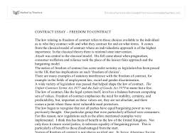 contract essay dom to contract university law marked by document image preview