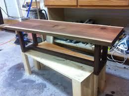 Black Walnut Coffee Table Live Edge Coffee Table Black Walnut Woodworking
