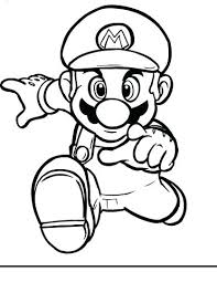 Free Mario Coloring Pages Printable Mario Coloring Pages Color Pages