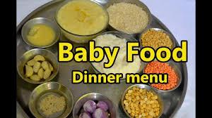 1 Year Baby Food Chart In Tamil Baby Food Dinner Menu 6 Month To 2 Years Baby Dinner Food Baby Night Food Recipe