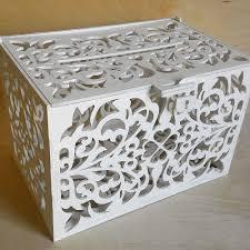 rustic wooden card box wedding money box slot