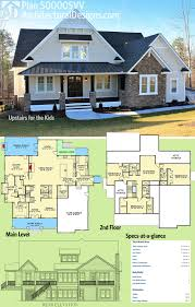 Image Bedroom Architectural Designs House Plan 500005vv Was Designed To Give The Kids Their Own Floor Upstairs Beds In All This Craftsman Design Gives You Over 4100 Bostoncondoloftcom Plan 500005vv Upstairs For The Kids Dream Home Ideas Pinterest