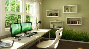 green ideas for the office. Home Office Painting Ideas Wall Homes Alternative | #50982 Green For The I