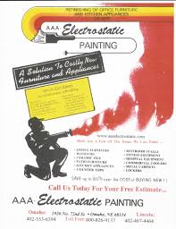 aaa electrostatic painting flyers item