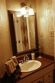 Powder Room Lighting bathroom simple and beautiful powder room makeover ideas to 5477 by xevi.us