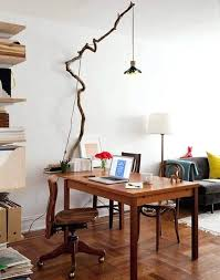 decoration tree branch light fixture improbable transformed got a chandelier home interior diy