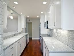 white galley kitchen remodel ideas