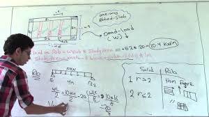 Rib Design Calculation One Way Ribbed Slab