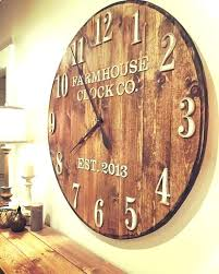 rustic large wall clock rustic large wall clock rustic large wall clock wall clocks large the