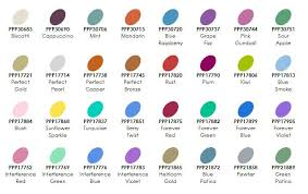 Pearl Color Chart Ranger Perfect Pearls Powder Color Chart Pearl Color